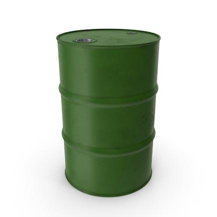 Barril Metal Clean Green