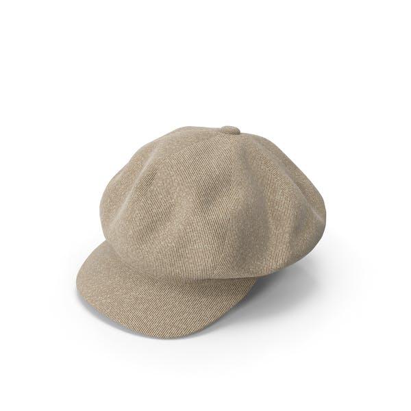 Женская шляпа Бежевый