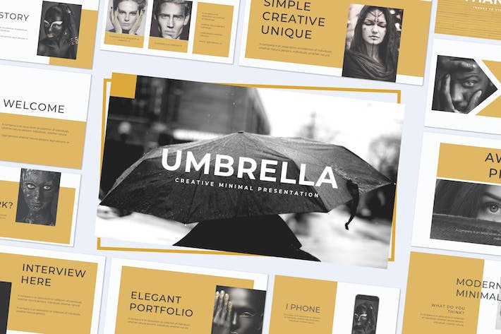 Thumbnail for UMBRELLA - Powerpoint Template