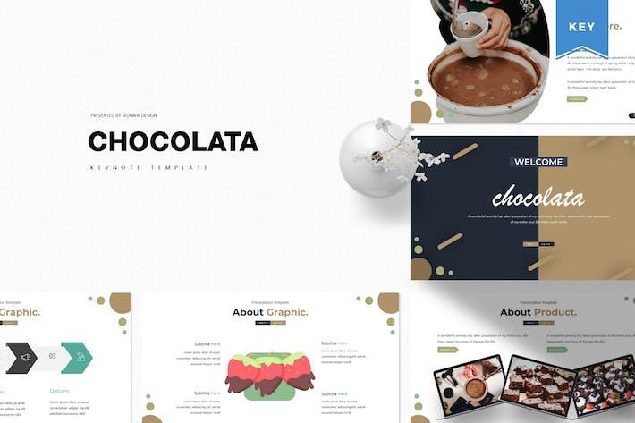 Thumbnail for Шоколата | Шаблон Keynote