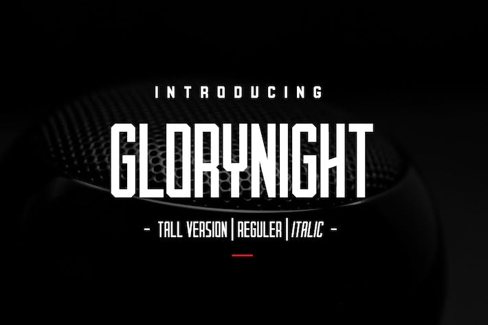 Thumbnail for Versión Glorynight Tall