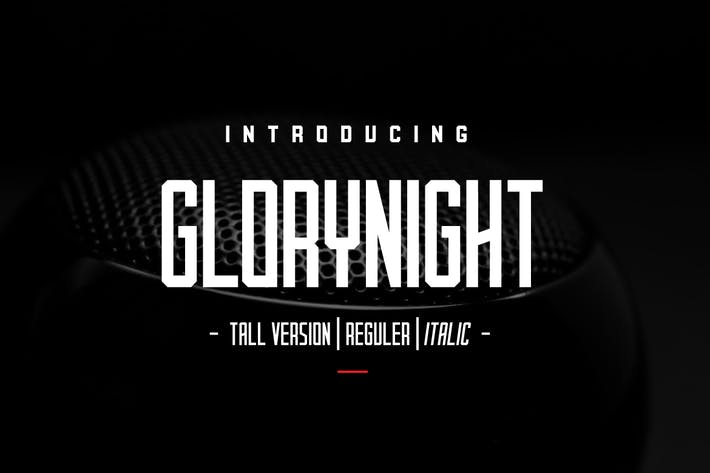 Glorynight Tall Version