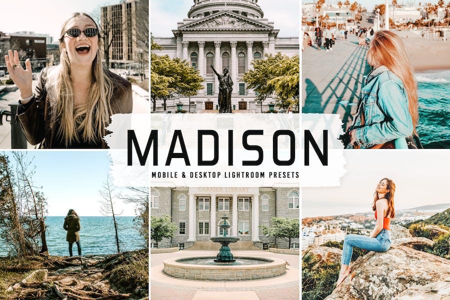 Madison Mobile & Desktop Lightroom Presets