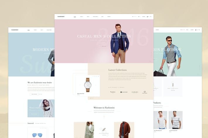 Thumbnail for Fashionist - Fashion eCommerce PSD template