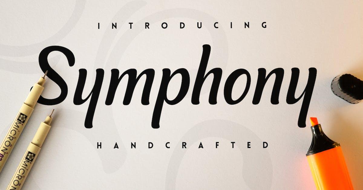 Download Symphony Script Font by snkart