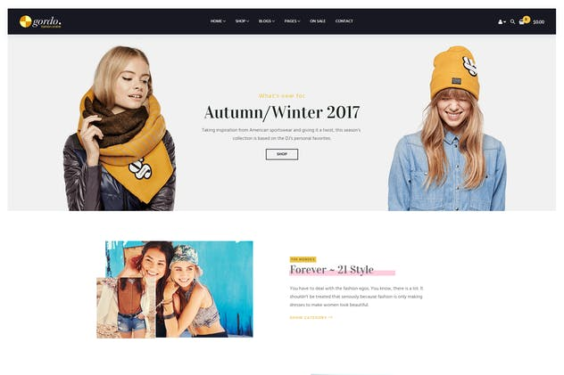 Gordo - Responsive WooCommerce WordPress Theme