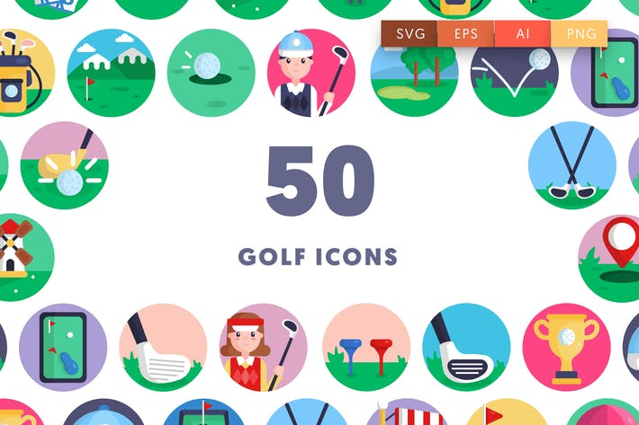 50 GolfIcons