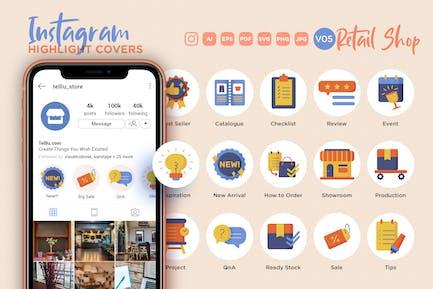 Instagram Highlight Icon V05 Retail Online Shop