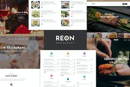 Restaurant Food Cafe WordPress Theme - Reon