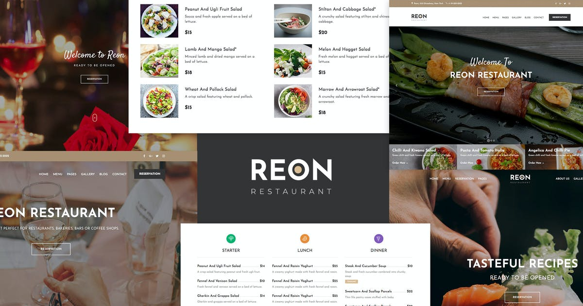 Download Reon - Restaurant WordPress Theme by ovatheme