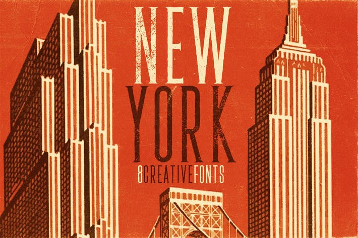 Thumbnail for New York Font