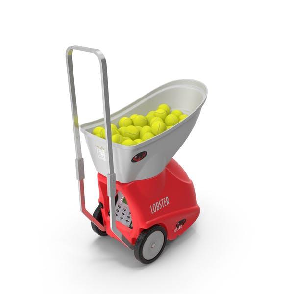 Portable Tennis Ball Machine with Balls