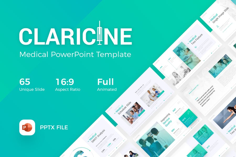 Claricine Medical PowerPoint Template