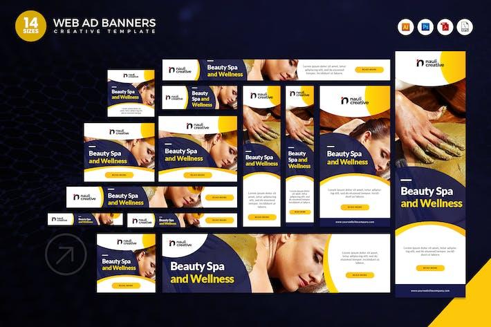 Thumbnail for 14 Beauty Spa And Wellness Google Adsense Banner