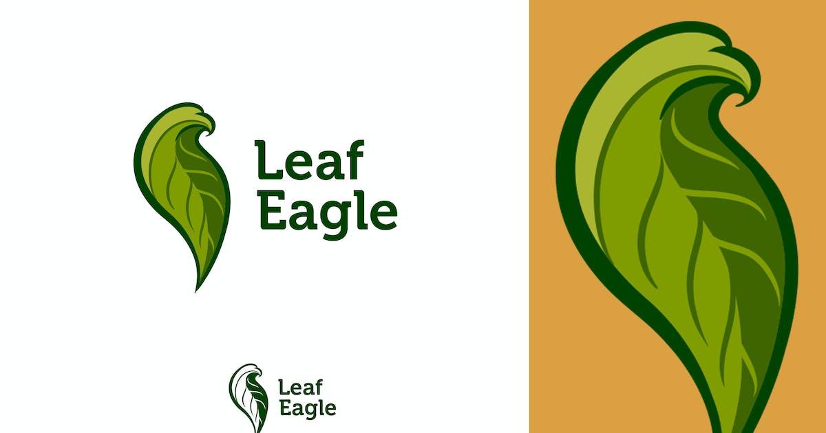 Leaf Eagle Logo by Suhandi
