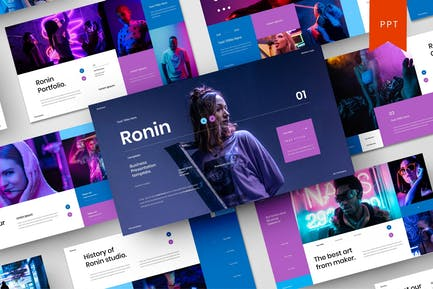 Ronin – Business PowerPoint Template