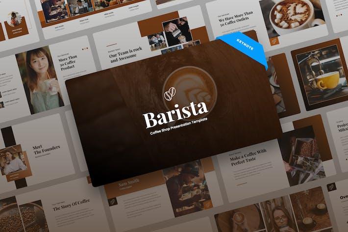 Thumbnail for Barista - Кофейня Keynote Презентация