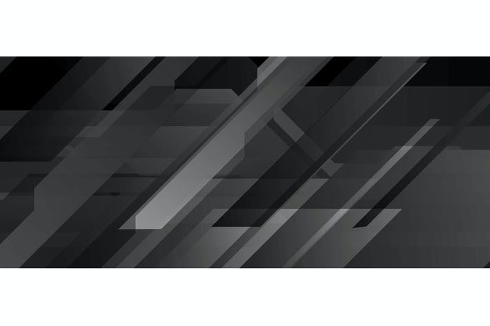 Thumbnail for Black abstract technology geometric background