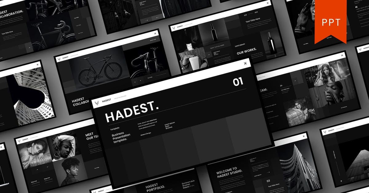Download Hadest – Business PowerPoint Template by DensCreativeStudio