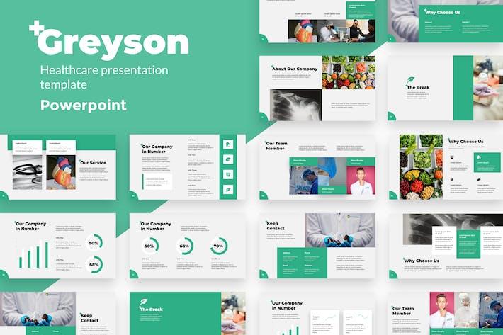 Greyson - Health Powerpoint Templates