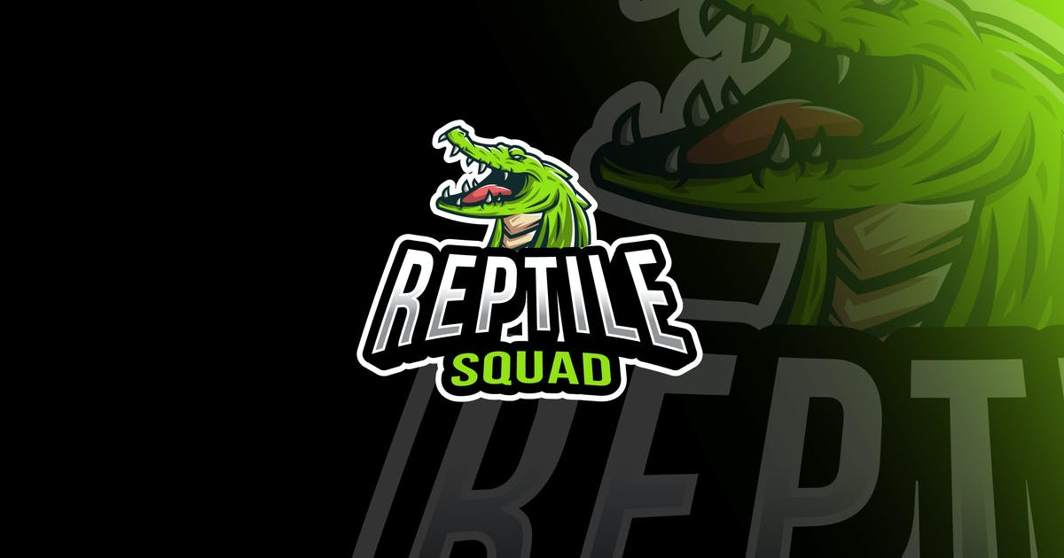 Download Reptile Squad Esport Logo Template by IanMikraz