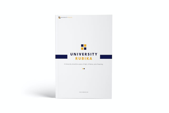 Thumbnail for University A4 Brochure Template