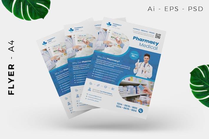 Thumbnail for Krankenhaus/Medizinische Flyer Design