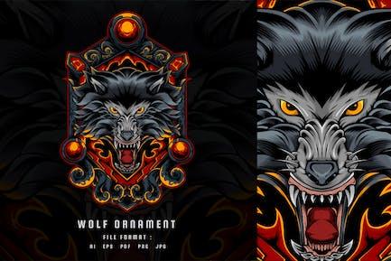 Das Wolf-Ornament