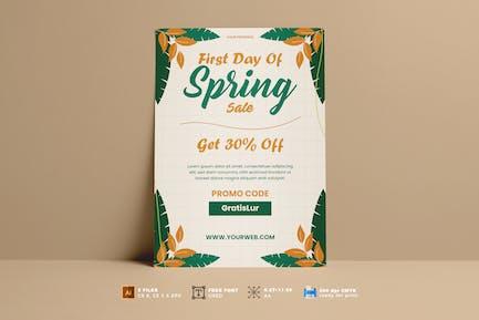Spring Sale Flyer Vol. 01