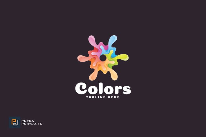 Thumbnail for Colors - Logo Template