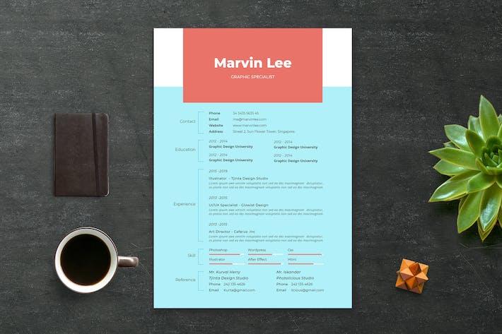 Thumbnail for Cv / Resume vol.5