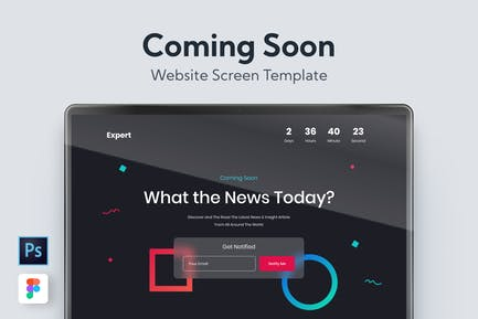 Web Coming Soon Template