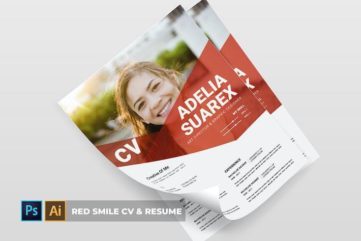 Red Smile | CV & Resume