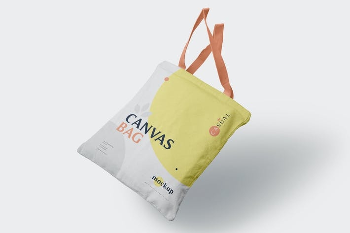 Thumbnail for Canvas Bag Mockups
