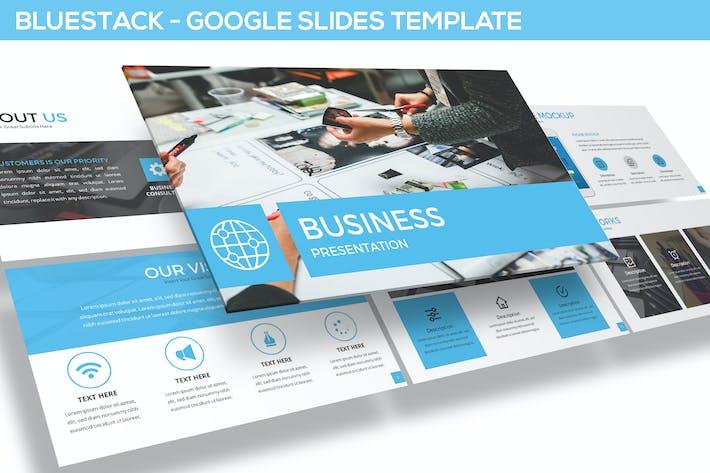Thumbnail for Bluestack - Google Slides Template