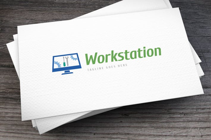 Thumbnail for Workstation Logo Template