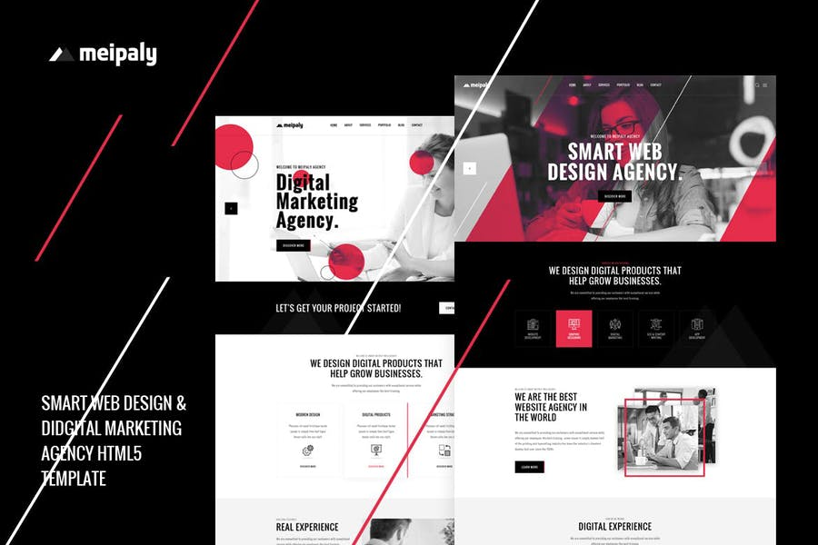 Meipaly - Digital Services Agency HTML5 Template