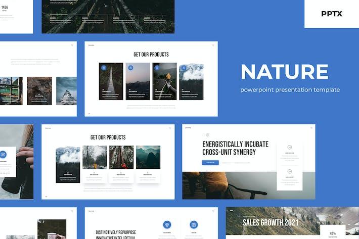 Thumbnail for Nature: Multipurpose Presentation Template