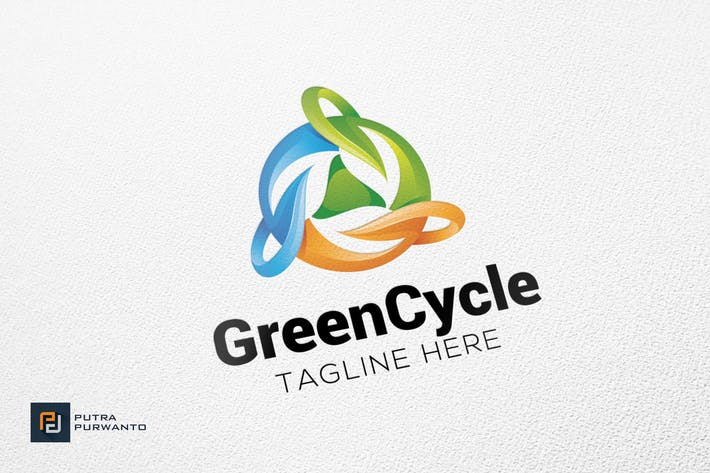 Thumbnail for Green Cycle - Logo Template