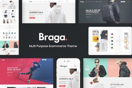 Braga - Tema de moda para WooCommerce WordPress