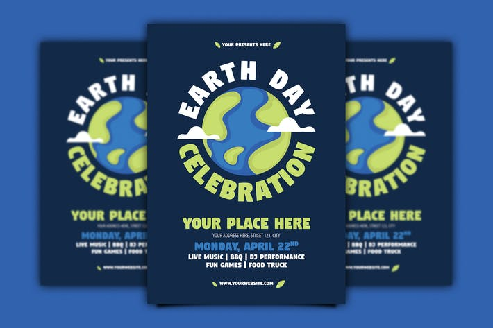 Thumbnail for Earth Day Flyer
