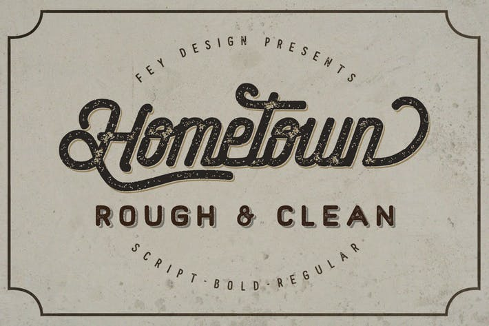 Thumbnail for Hometown - Clean And Rough