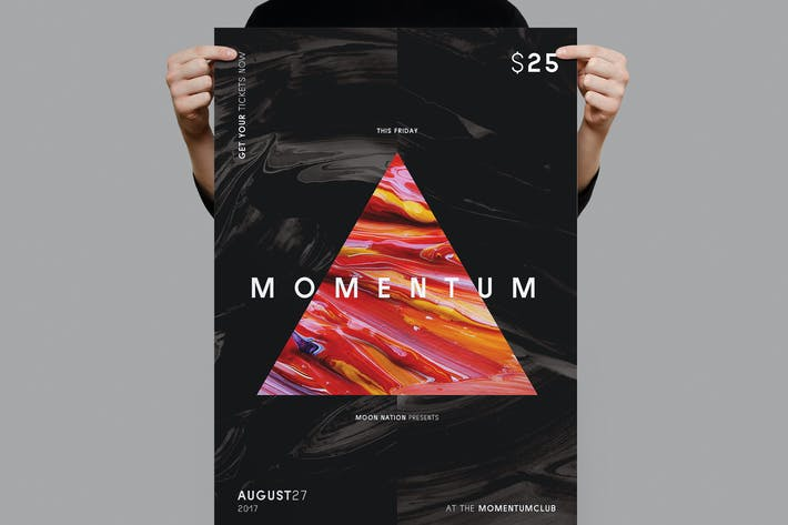 Thumbnail for Momentum Flyer / Poster Template