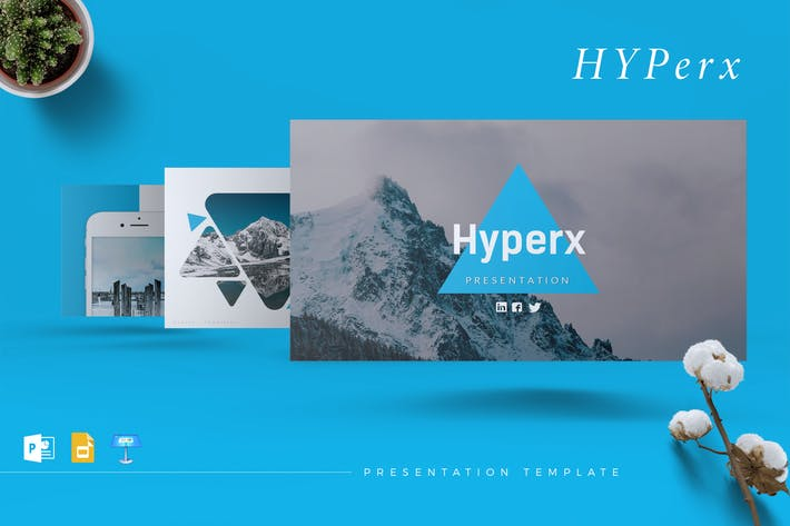 Thumbnail for HYPERX - Creative Powerpoint/Google Slide/Keynote