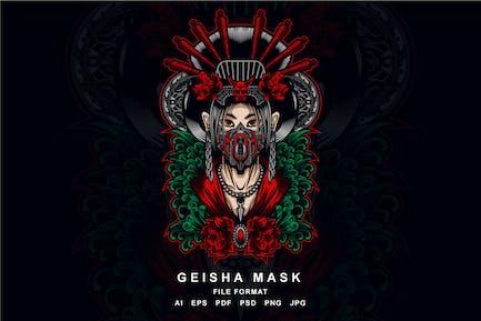 Geisha Mask