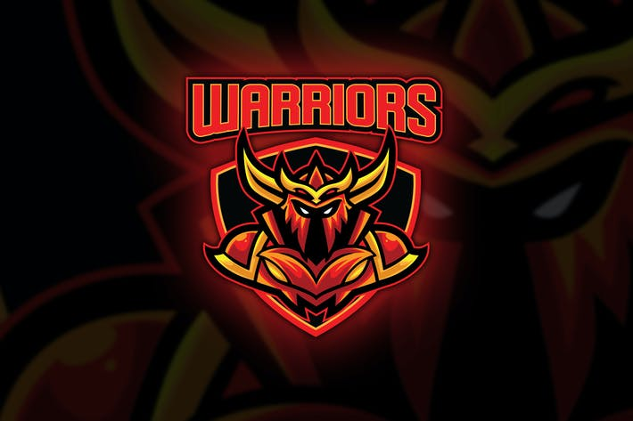 Thumbnail for Warrior Esport Logo Template