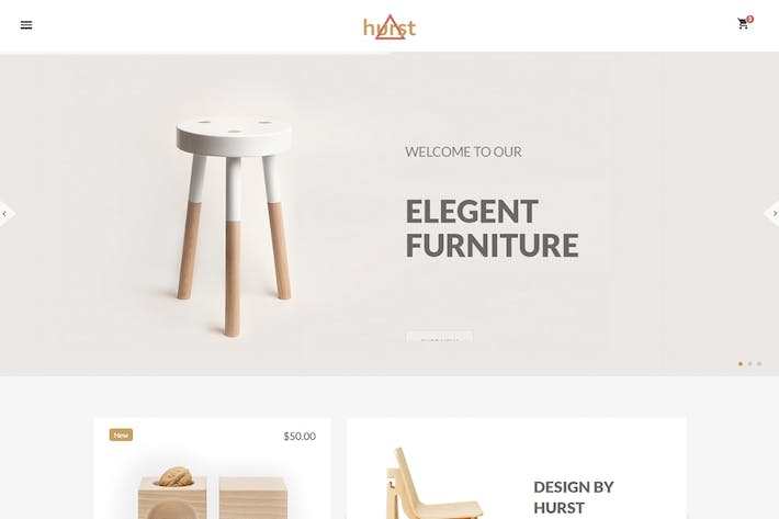 Thumbnail for Hurst - eCommerce Furniture Template