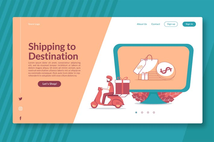 Thumbnail for Shipping to Destination - Landing Page GR