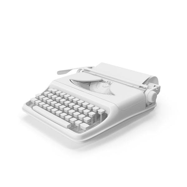 Thumbnail for Monochrome Vintage Typewriter