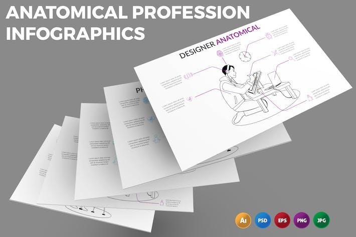 Thumbnail for Anatomical Job – Infographics Design